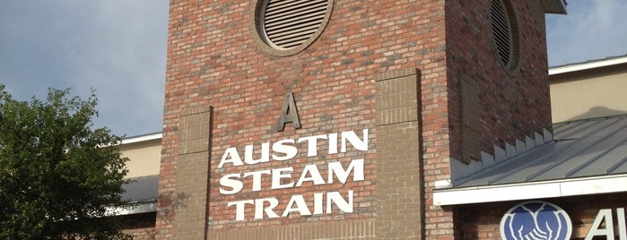 Austin Steam Train is one of Stuff To Do.