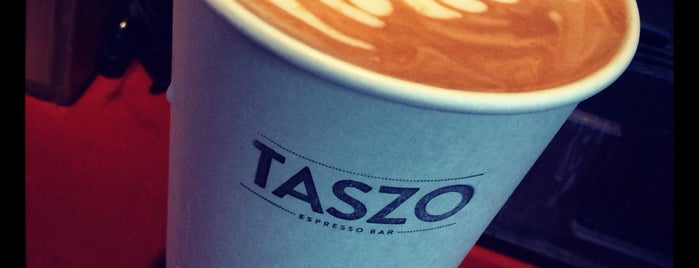 Taszo Espresso Bar is one of Lugares favoritos de Andrea.