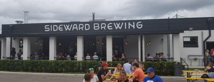 Sideward Brewing is one of Tempat yang Disukai Karen.