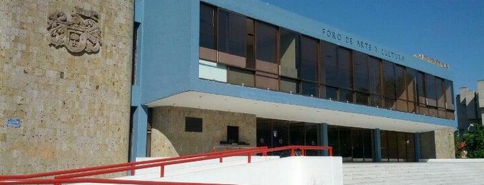 Foro de Arte y Cultura is one of Carlos'un Beğendiği Mekanlar.