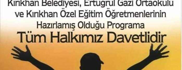 Kırıkhan Öğretmenevi is one of Top picks for Other Great Outdoors.