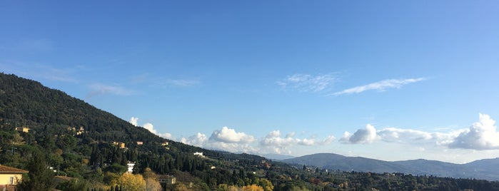 Fiesole is one of Firenze (Florence).