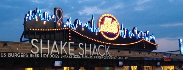 Shake Shack is one of NY Eats.