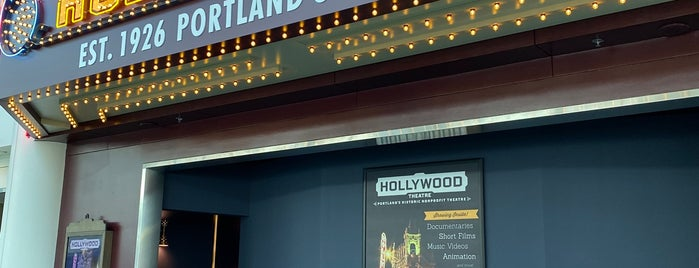 Hollywood Theatre is one of สถานที่ที่ Dj ถูกใจ.