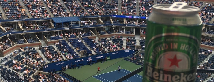 US Open President's Box is one of dos....