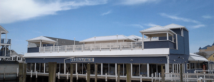 Marina Deck Resturant is one of OCMD.