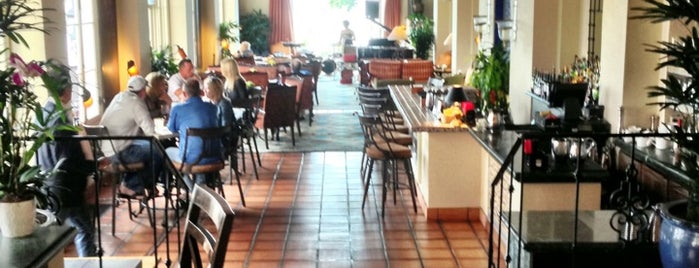 La Valencia Hotel is one of La Jolla-San Diego Weekend Dining List.