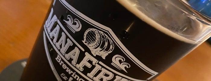 Manafirkin Brewing Co. is one of Locais curtidos por Rachel.