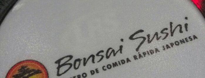 Bonsai Sushi is one of Lugares Visitados.