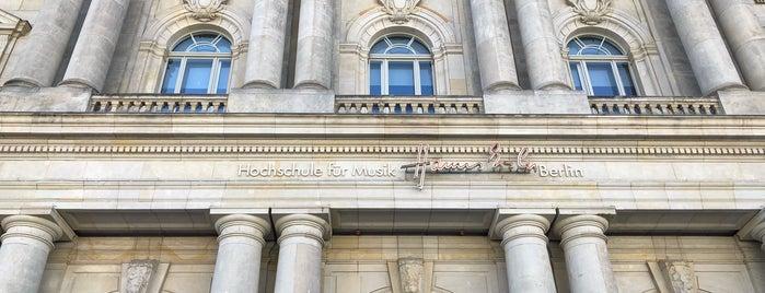 Neuer Marstall   Hochschule für Musik Hanns Eisler is one of Berlin #4sqcities.