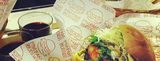 Pim Pam Burger is one of BCN new.