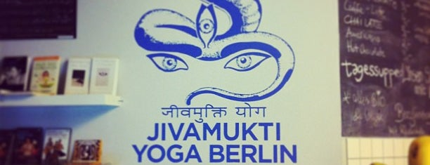 Jivamukti Yoga is one of VeganBerlin.