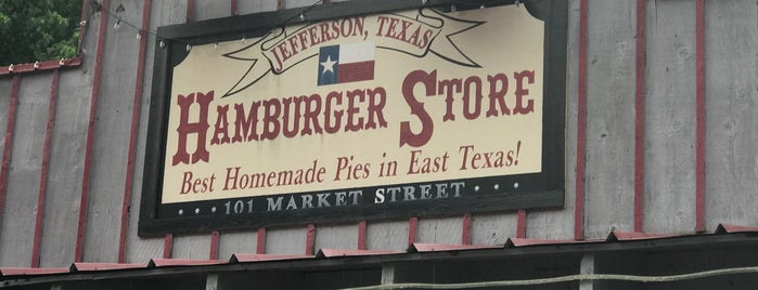 Hamburger Store is one of Texas Monthly 50 Greatest Hamburgers in Texas.