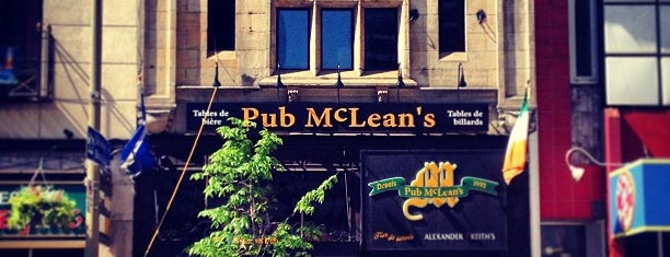 McLean's Pub is one of Montreal.