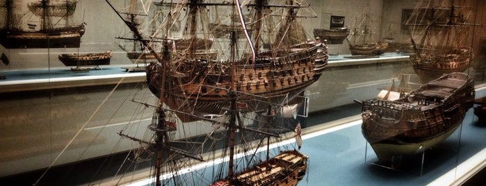 National Maritime Museum is one of Ships (historical, sailing, original or replica).