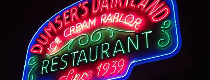 Dumser's Dairyland Restaurant is one of Jen Randall on the Eastern Shore.