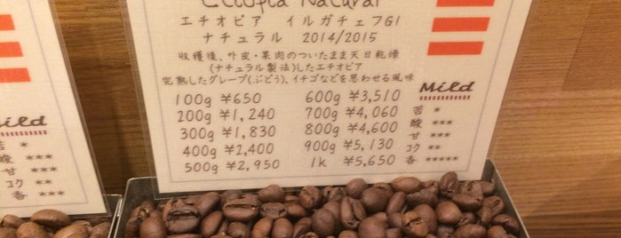 GREENS Coffee Roaster is one of To drink Japan.