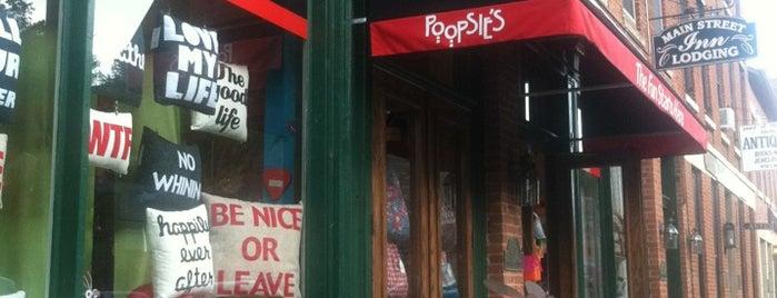 Poopsie's is one of Galena.