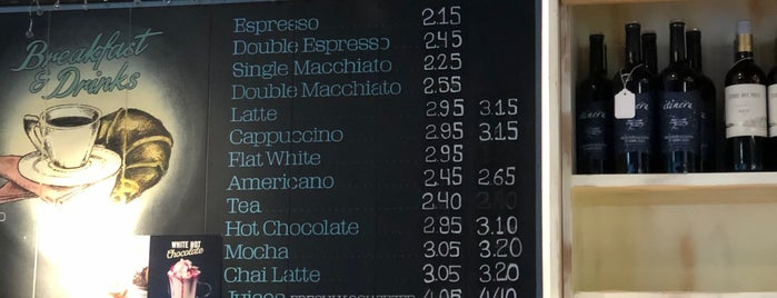 Caffe Paradiso is one of November shop small.