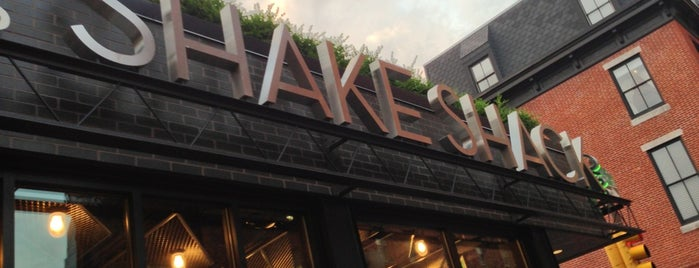 Shake Shack is one of Rittenhouse Square Delights.