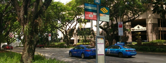 Bus Stop 09111 (Opp Four Seasons Hotel) is one of Singapore: business while travelling part 3.