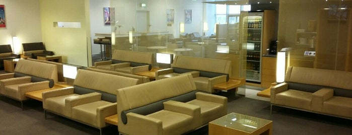 Air France Lounge is one of Christoph's Liked Places.