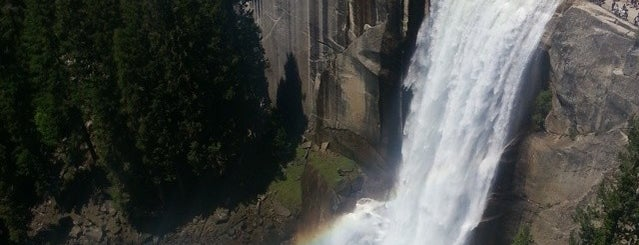 Top of Nevada Falls is one of 10 - Yosemite.
