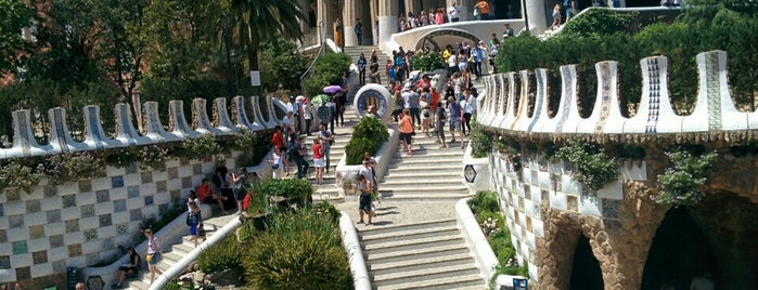Parque Güell is one of 建築マップ ヨーロッパ.