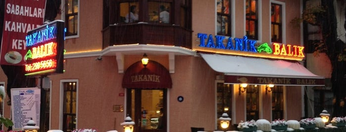 Takanik Balık is one of Best Food, Beverage & Dessert in İstanbul.
