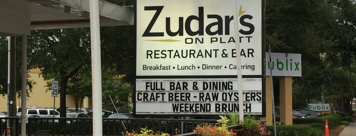 Zudar's on Platt is one of Brunch Tampa Bay.