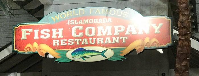 Islamorada Fish Company is one of สถานที่ที่ Bev ถูกใจ.