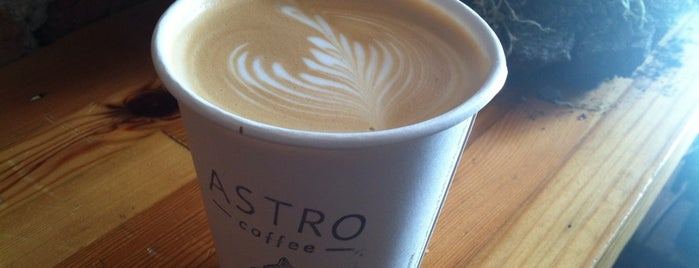 Astro Coffee is one of Detroit by Manoogian.