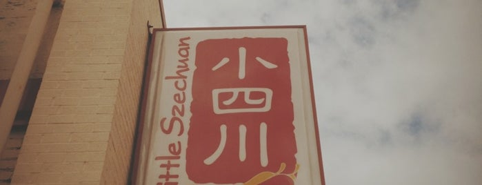 Little Szechuan is one of Lieux sauvegardés par Hillman.
