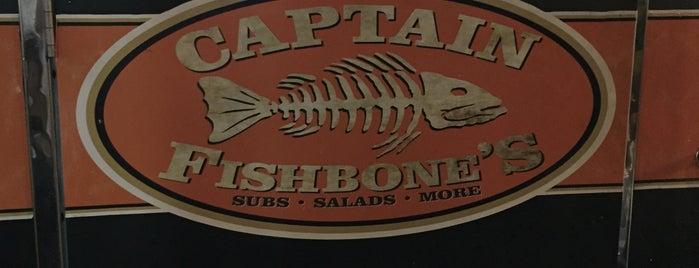 Captain Fishbone's is one of Orte, die Marcio gefallen.