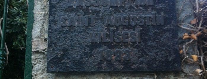 Saint Augustin Kilisesi is one of Gezelim Görelim Eski İstanbul.