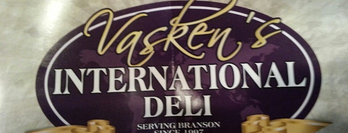 Vaskens Deli is one of Lugares guardados de Lizzie.