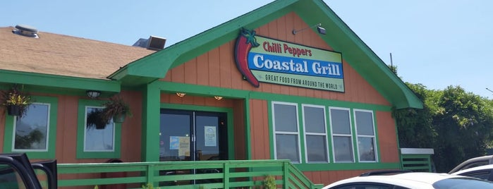 Chilli Peppers Coastal Grill is one of Lugares guardados de Lizzie.
