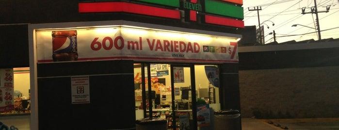 7- Eleven is one of สถานที่ที่ Edgar ถูกใจ.