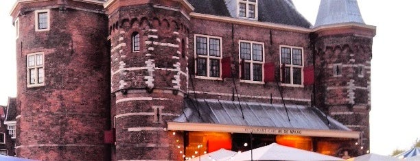 Restaurant-Café In de Waag is one of The Netherlands.