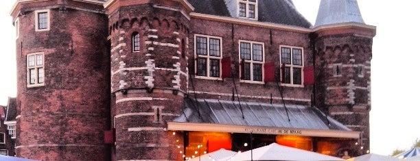 Restaurant Café In de Waag is one of The Netherlands.