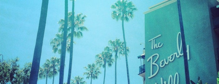 Beverly Hills Hotel is one of West Coast Sites.