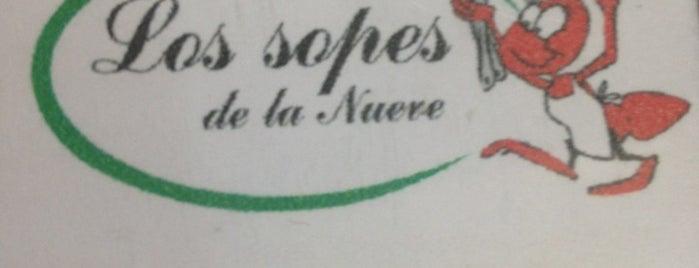Los Sopes de la Nueve is one of Recomendados en México, D.F..