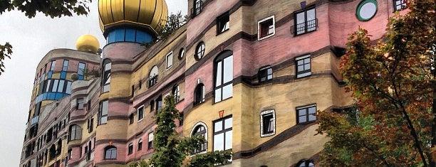 Hundertwasserhaus Waldspirale is one of Darmstadt.