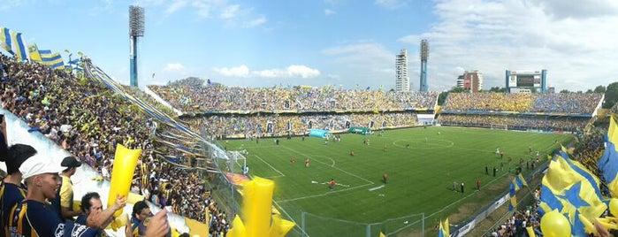"""Estadio Dr. Lisandro de la Torre """"El Gigante de Arroyito"""" (Club Atlético Rosario Central) is one of Lugares favoritos de Lucas."""