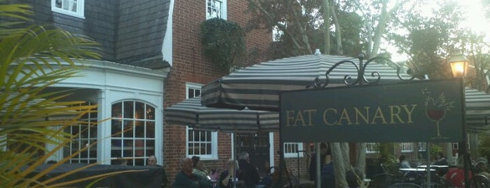 The Fat Canary is one of RVA Fan Restaurants.