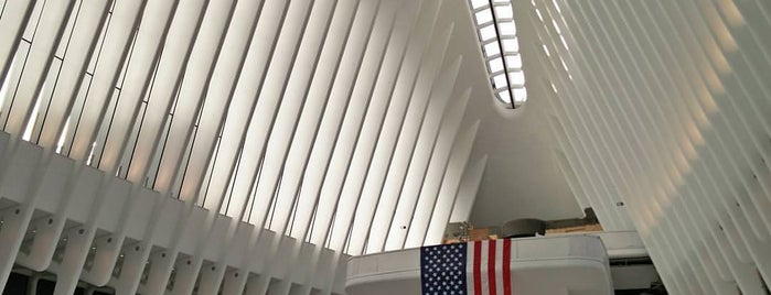 World Trade Center Transportation Hub (The Oculus) is one of New York City.