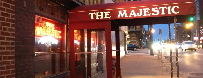 The Majestic Restaurant is one of Kansas City.