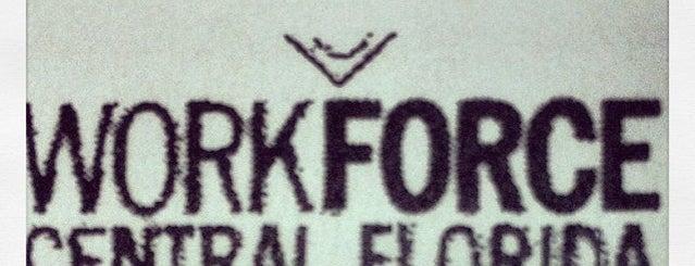 Workforce Central Florida is one of Lugares favoritos de Sharon.