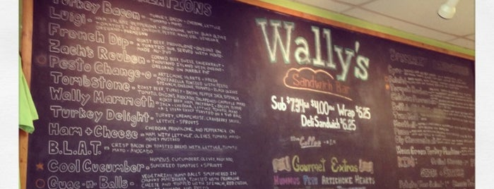 Wally's is one of Olympia Vegan Spots.