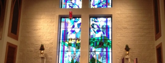 St. Richards Episcopal Church is one of Posti che sono piaciuti a Kelsey.